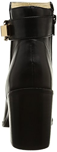 Buffalo London414-2655 SILK LEATHER - botas Mujer Negro - Schwarz (BLACK851)