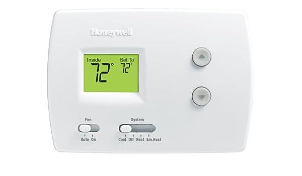 Honeywell RTH3100C1002/A termoestato - Termostato (LCD, 2,25 ...