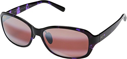 Maui Jim Koki Beach Polarized Sunglasses - Women's Purple Tortoise / Maui Rose One - Koki Maui Beach Jim