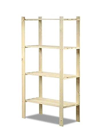 Modo24.de Scaffale in legno Keller di magazzino di libri di cucina a ripiani serie B 17–24