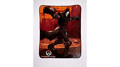 Overwatch Reaper Fleece Throw Blanket Alternative Travel Blanket