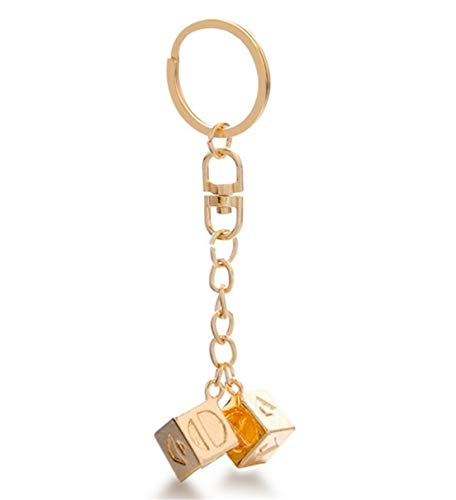 LOSOUL Lucky DICE Costumes Charms Jewelry for Cosplay,2# ()