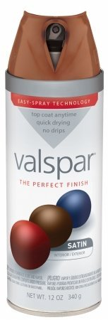 Valspar Brand 410-85044 SP 12 Oz Brown Velvet Satin Premium