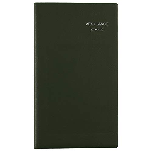 AT-A-GLANCE 2019-2020 Academic Year Weekly & Monthly Planner, Pocket Size, 3-1/2