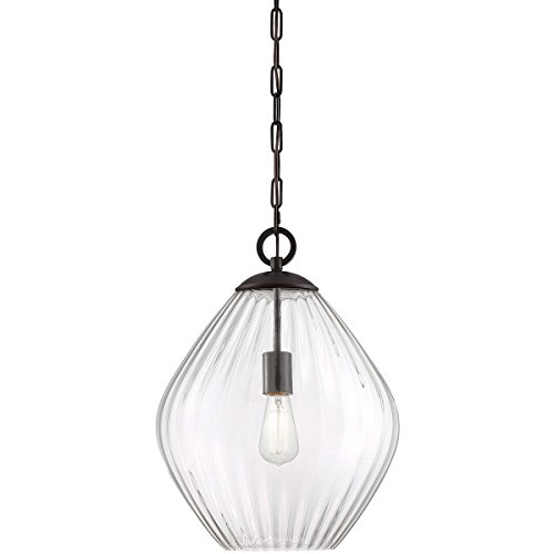 Pendants 1 Light with English Bronze Finish Incandescent Bulbs 16 inch 100 Watts