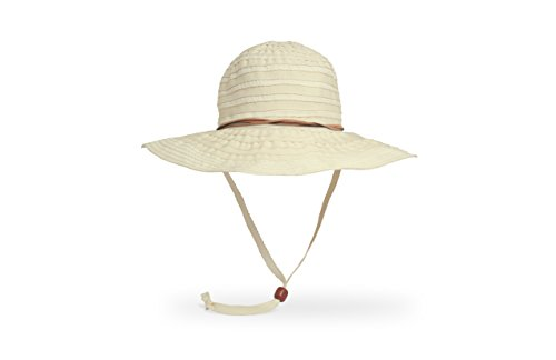 Sunday Afternoons Womens Lanai Hat, Plumeria, One Size