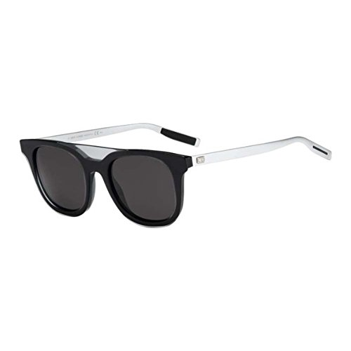 Christian Dior CD Black Tie 200S N13/Y1 Grey/Black/Palladium Frame Grey Lens ()