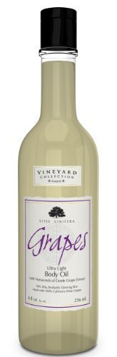 Grapes Vineyard Coll Vineyard Collection Grapes Ultra Light Body Oil [8.oz]