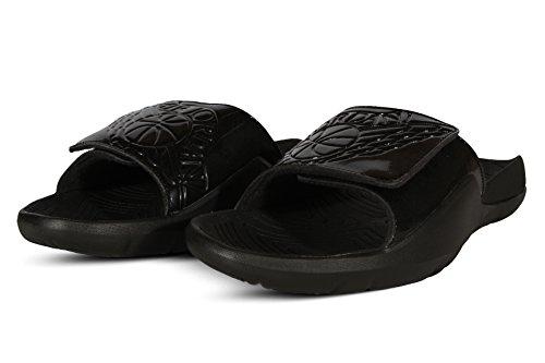 Jordan Men's Hydro 7 Slide Sandals Black/Black 10 ()