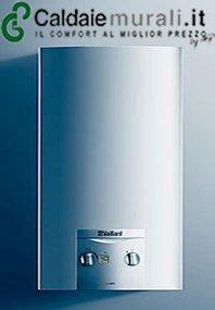 VAILLANT TURBOMAG 11-2/0 - Calentador de agua a gas con kit de