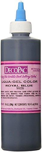 DecoPac Airbrush Color, Royal Blue, .6 Pound