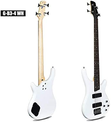 Guitarra de bajo, guitarra acústica, eléctrica, de acero, 24 ...