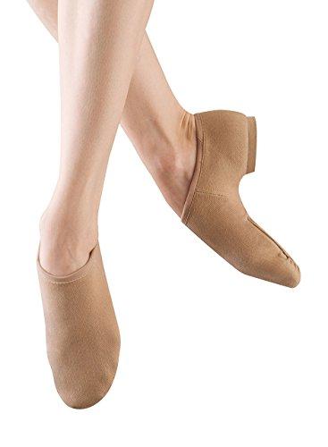 Bloch Women's Phantom Jazz Shoe, Tan, 8 M US