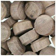 WIDGETCO 5/8' Walnut Floor Plugs