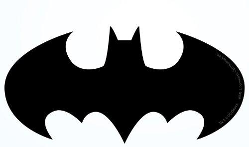 Licenses Products DC Comics Batman Logo Sticker -