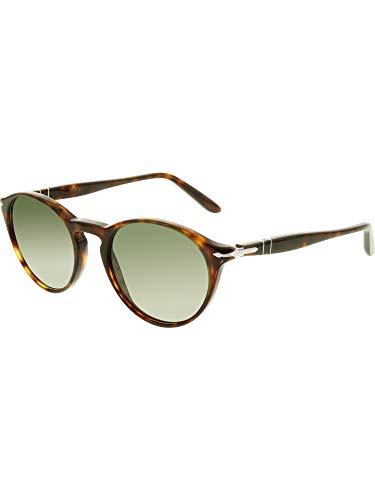 Persol Mens Sunglasses Tortoise/Green Acetate - Non-Polarized - ()