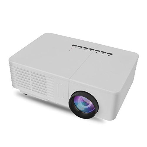 Video Mini Portable LCD Projector HDMI USB AV VGA 600 Lumen Theater Children Education Beamer
