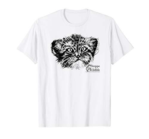 Pallas Cat Books: Steppe Wildlife Pallas Cat Shirt ()