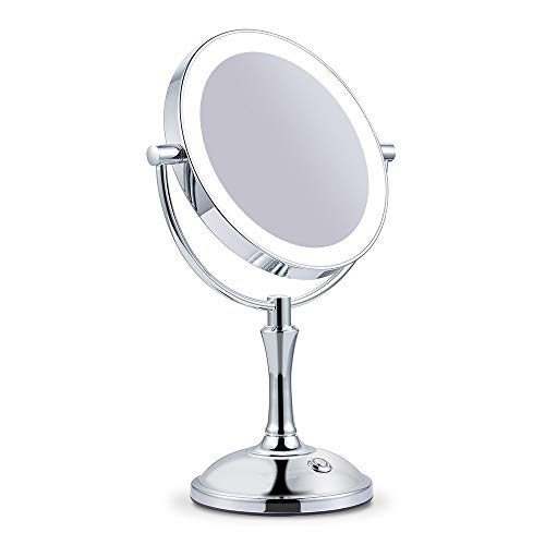Makeup Mirror with Lights Lighted Makeup Mirror LED Vanity Mirror 7X Magnifying -