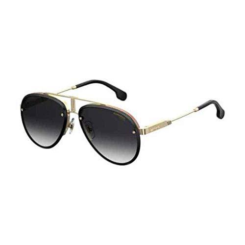 (Carrera CARRERA GLORY GOLD BLACK/GREY SHADED 58/17/145 unisex Sunglasses)