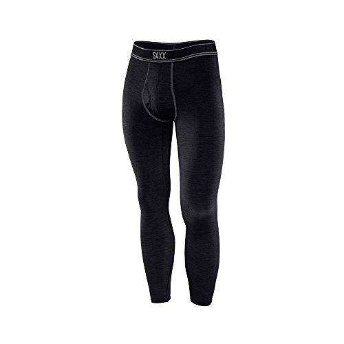 Saxx Mens Blacksheep Long John Fly Performance Boxers Underwear 2X-Large (Merino Long Johns)