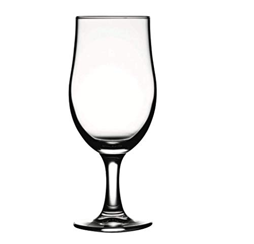 Pasabahce Draft Beer Goblet Glass Set, 380ml  Pack of 6