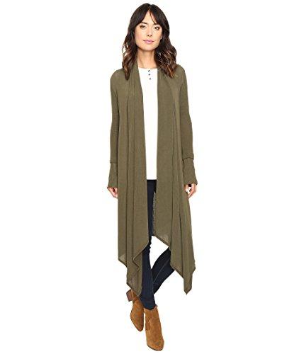 Carmen Olive (Culture Phit Women's Carmen Wrap Shawl Olive Sweater LG)
