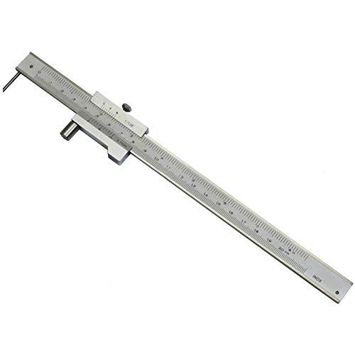 Woolves Vernier Caliper 0-200MM Micrometer Measuring Tools Stainless Steel Vernier Caliper with Carbide Scriber Parallel Marking Gauging Ruler Marking Measuring Parallel Crossed Caliper