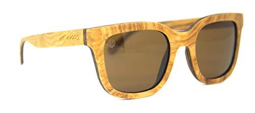 Óculos De Sol De Madeira Carambina, MafiawooD