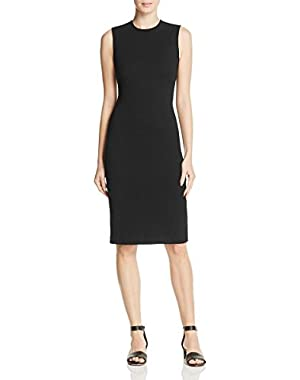 Womens Eano B. Textured Stretch Knit Cocktail Dress