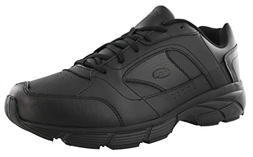 Best Dr. Scholl's Men's Warum Athletic Wide Width Walking Shoes (10.5 2E US, Black)