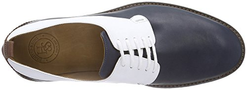 Hemsted & Sons Zapatos derby Azul Oscuro / Blanco