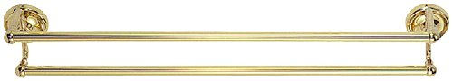 Elizabethan Classics ECDTBPB 24-Inch Double Towel Bar, Polished (Elizabethan Classics Hooks)