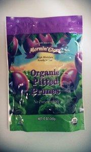 Mornin Glory Organic Pitted Prune - Moist Pack, 12 Ounce -- 12 per case.