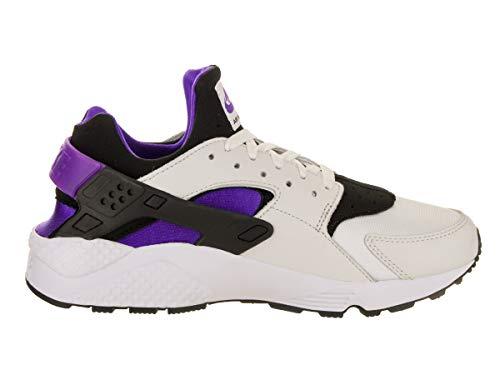 Men's White Purple Black Running Punch Shoe '91 Run QS NIKE Air Huarache Black A7x6dgwgq