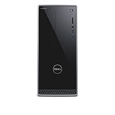 2017 Dell Inspiron High Performance Desktop Tower (Intel Quad Core i5-6400 2.70 GHz, 8GB RAM, 1TB 7200RPM HDD, NVIDIA GeForce 730 2GB GDDR3, DVD, Wifi, Bluetooth, HDMI, VGA, Windows10)