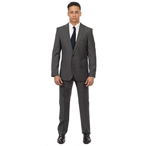 WANSHIYISHE Men Formal Business Double Breasted Vest V-Neck Slim Fit Waistcoat