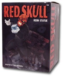 Red Skull Statue (Red Skull Resin Statue by Diamond Select)