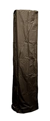 AZ Patio Heaters HVD-SGTCV Heavy Duty Glass Tube Cover in Mocha Color, Square Outdoor, Home, Garden, Supply, Maintenance