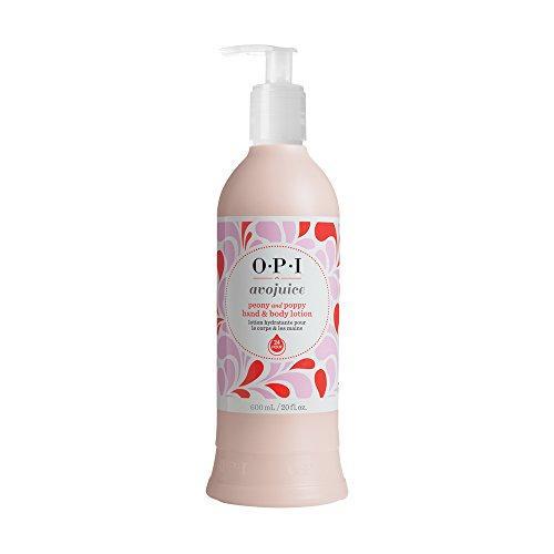 (OPI Avojuice Hand Lotion, Peony & Poppy, 20 Fl Oz)