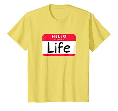 Kids Pun Halloween Costume Shirt - When Life Gives You Lemons 4 Lemon -