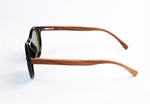 Lente GCC de Gafas Todo uno Sol Moda Gafas bambú Madera de F de en de Orx5UqOBw1