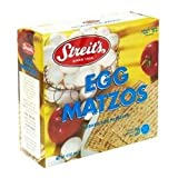 Streits Matzo Egg & Onion, 11-ounce Boxes (Pack of 6)