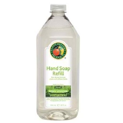 Earth Friendly Liquid Hand Soap Refill Lemongrass 24x 32OZ