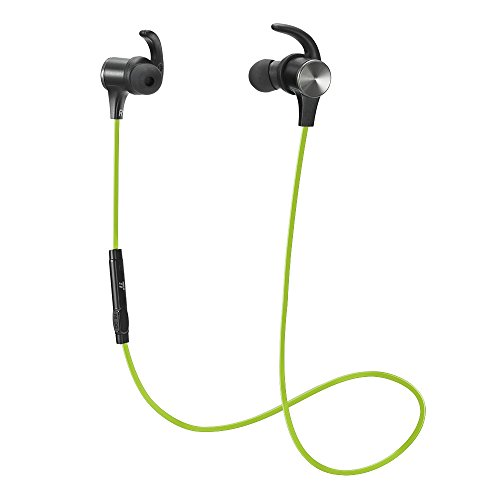 Bluetooth Earphones, TaoTronics Wireless 4.2 Magnetic Earbud