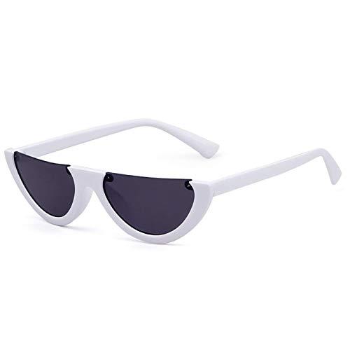 Clout Goggles Cat Eye Sunglasses Half Frame Vintage Mod Style Retro Kurt Cobain Eyewear