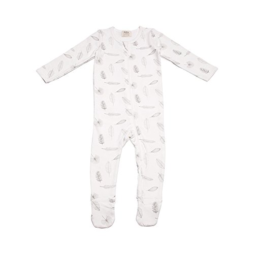 Owlivia Organic Cotton Baby Boy Girl Zip Front