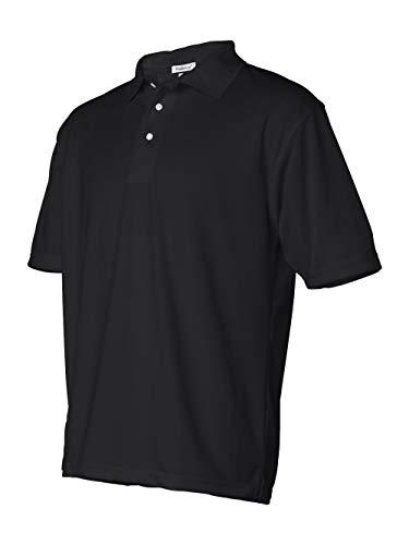 Featherlite Men'S Polyester Mesh Pique (Black) (L)