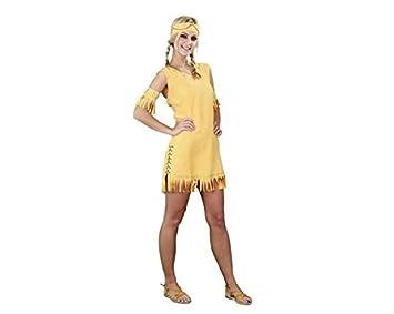 Disfraz de india para mujer, talla única para adulto: Amazon.es ...