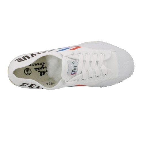 Zelten Unisex Feiyue Classic Canvas Kung Fu Shoes White-dafu HRPVyVzu